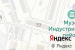Схема проезда до компании Ассет в Хабаровске