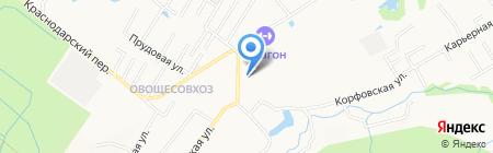 КонкретБетон на карте Хабаровска