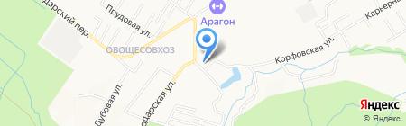 КАМСС-сервис на карте Хабаровска