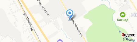 ВИРА-ДВ на карте Хабаровска