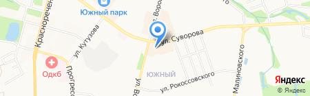 Мир посуды на карте Хабаровска