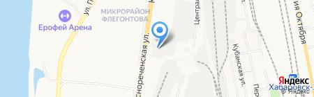 Автомобильные технологии на карте Хабаровска