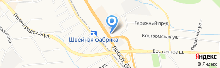 Кухни от Антонио на карте Хабаровска