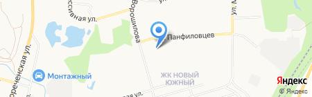 Двери ДВ на карте Хабаровска