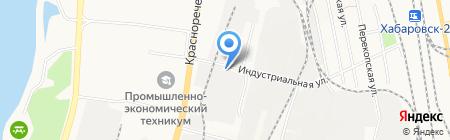 Сантехснаб-ДВ на карте Хабаровска
