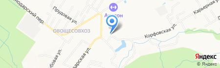 Avtodvor на карте Хабаровска