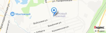 Ярославна на карте Хабаровска