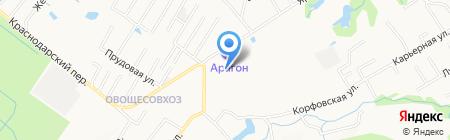 Сатис на карте Хабаровска