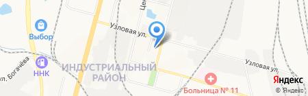 Дом культуры для молодежи и населения на карте Хабаровска