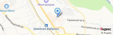 ЛиА строй плюс на карте Хабаровска