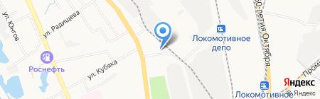 Совкомбанк на карте Хабаровска