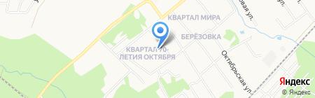 Детский сад №48 на карте Хабаровска