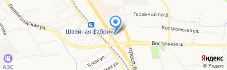 Стол заказов на карте Хабаровска