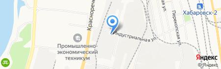 АВТОПАРТНЕР на карте Хабаровска