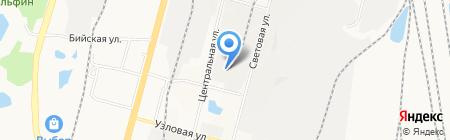 Дальэнергостройкомплект на карте Хабаровска
