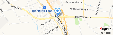 Кимура-Хабаровск на карте Хабаровска