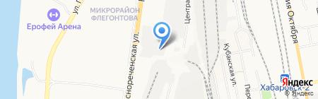 ЛЛПК на карте Хабаровска