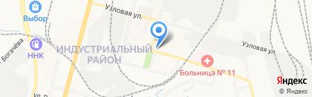 Торговый центр на карте Хабаровска