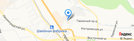 Даль Час Торг на карте Хабаровска