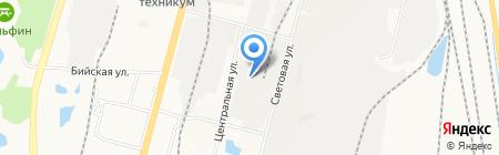Электромонтаж на карте Хабаровска