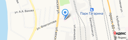 Хабаровское протезно-ортопедическое предприятие на карте Хабаровска