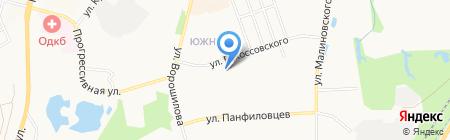 Стоматологическая поликлиника №18 на карте Хабаровска