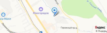 Электротехнические системы на карте Хабаровска