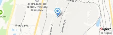 Курьер-логистик ДВ на карте Хабаровска