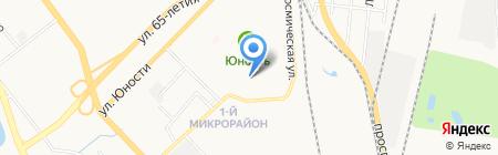 Детский сад №23 на карте Хабаровска