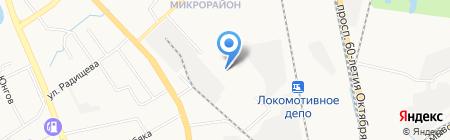 Детский сад №187 на карте Хабаровска