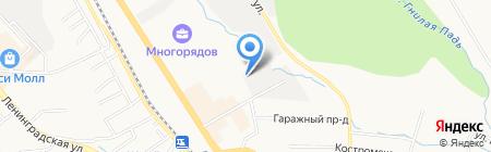 Рыбоптторг на карте Хабаровска