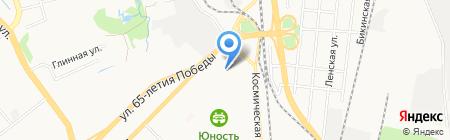 Детский сад №156 на карте Хабаровска