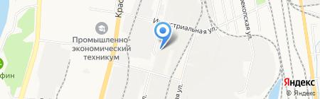 Кэми Дальэлектромонтаж на карте Хабаровска