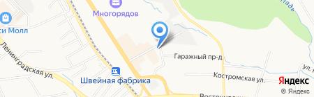 Сервис Климатических Систем на карте Хабаровска