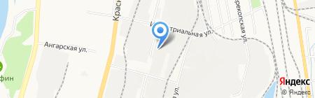 АвтоБиз на карте Хабаровска