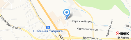 Карнавал на карте Хабаровска