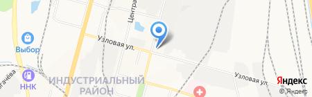 Пожарная часть №30 на карте Хабаровска