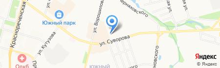 Специальный коррекционный детский дом №5 на карте Хабаровска