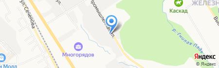 Регион ДВ на карте Хабаровска