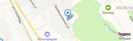 Промсфера на карте Хабаровска
