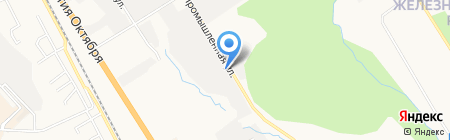 KHV-Express на карте Хабаровска