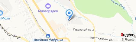 Ротшильд на карте Хабаровска