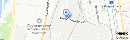 Noname Factory на карте Хабаровска