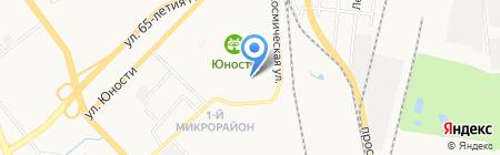 Детский сад №150 на карте Хабаровска