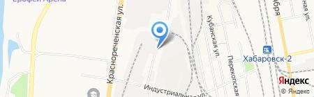 Альфа Интернешнл на карте Хабаровска