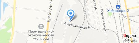 Экомастер на карте Хабаровска