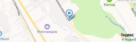 ГАММА-ИНЖИНИРИНГ на карте Хабаровска