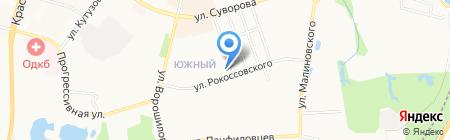 Женская консультация №2 на карте Хабаровска