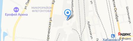 Оптовая фирма на карте Хабаровска