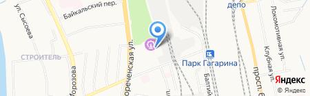 Хабаровский Цирк на карте Хабаровска